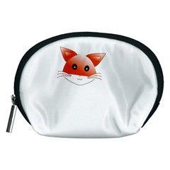 Animal Image Fox Accessory Pouches (medium)  by BangZart