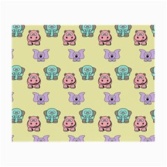 Animals Pastel Children Colorful Small Glasses Cloth by BangZart