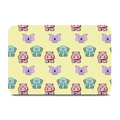 Animals Pastel Children Colorful Plate Mats by BangZart