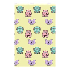 Animals Pastel Children Colorful Shower Curtain 48  X 72  (small)  by BangZart