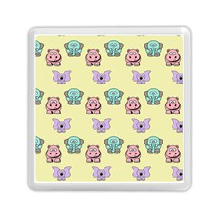 Animals Pastel Children Colorful Memory Card Reader (square)  by BangZart