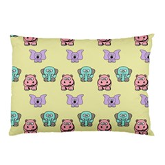 Animals Pastel Children Colorful Pillow Case (two Sides) by BangZart