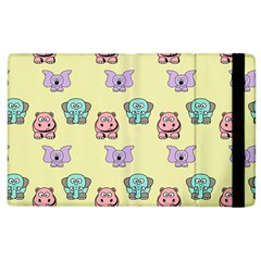 Animals Pastel Children Colorful Apple Ipad 3/4 Flip Case by BangZart