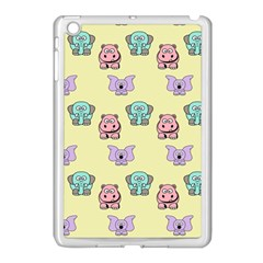 Animals Pastel Children Colorful Apple Ipad Mini Case (white)