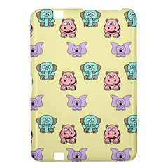 Animals Pastel Children Colorful Kindle Fire Hd 8 9  by BangZart