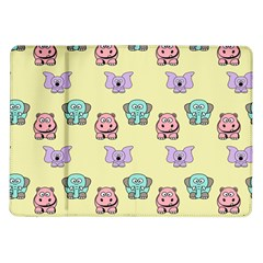 Animals Pastel Children Colorful Samsung Galaxy Tab 10 1  P7500 Flip Case by BangZart