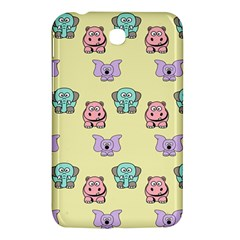 Animals Pastel Children Colorful Samsung Galaxy Tab 3 (7 ) P3200 Hardshell Case  by BangZart