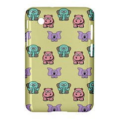 Animals Pastel Children Colorful Samsung Galaxy Tab 2 (7 ) P3100 Hardshell Case