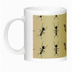 Ants Pattern Night Luminous Mugs by BangZart