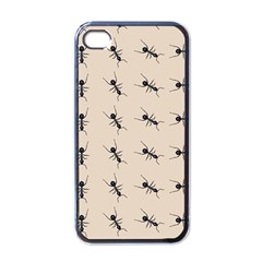 Ants Pattern Apple Iphone 4 Case (black) by BangZart