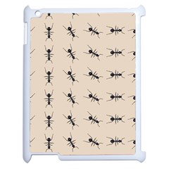 Ants Pattern Apple Ipad 2 Case (white) by BangZart