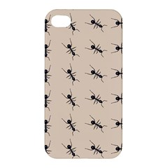 Ants Pattern Apple Iphone 4/4s Hardshell Case by BangZart