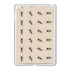 Ants Pattern Apple Ipad Mini Case (white)