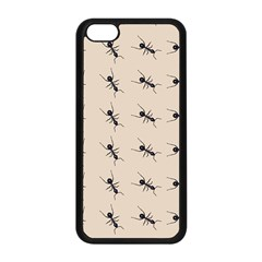 Ants Pattern Apple Iphone 5c Seamless Case (black)