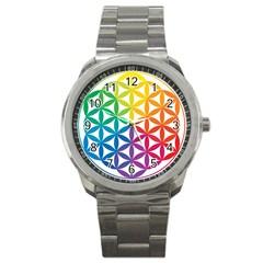 Heart Energy Medicine Sport Metal Watch by BangZart