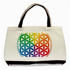 Heart Energy Medicine Basic Tote Bag by BangZart