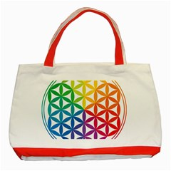 Heart Energy Medicine Classic Tote Bag (red)