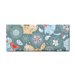 Cute Cat Background Pattern Cosmetic Storage Cases