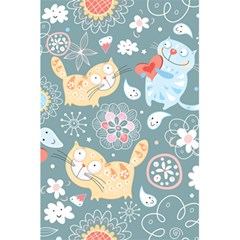Cute Cat Background Pattern 5 5  X 8 5  Notebooks by BangZart
