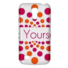 Be Yourself Pink Orange Dots Circular Galaxy S4 Mini