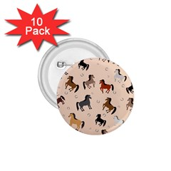 Horses For Courses Pattern 1 75  Buttons (10 Pack) by BangZart