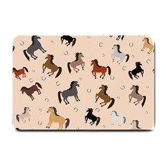 Horses For Courses Pattern Small Doormat  by BangZart