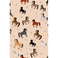 Horses For Courses Pattern 5 5  X 8 5  Notebooks by BangZart