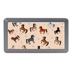 Horses For Courses Pattern Memory Card Reader (mini) by BangZart