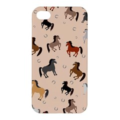 Horses For Courses Pattern Apple Iphone 4/4s Premium Hardshell Case by BangZart