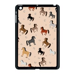 Horses For Courses Pattern Apple Ipad Mini Case (black) by BangZart