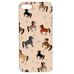 Horses For Courses Pattern Apple Iphone 5 Hardshell Case With Stand by BangZart