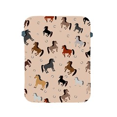 Horses For Courses Pattern Apple Ipad 2/3/4 Protective Soft Cases