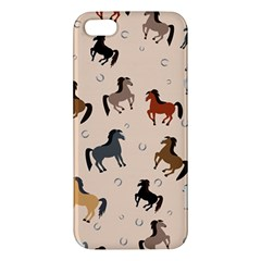 Horses For Courses Pattern Iphone 5s/ Se Premium Hardshell Case by BangZart