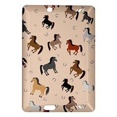 Horses For Courses Pattern Amazon Kindle Fire Hd (2013) Hardshell Case by BangZart