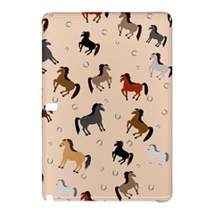 Horses For Courses Pattern Samsung Galaxy Tab Pro 10 1 Hardshell Case by BangZart