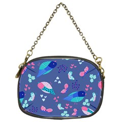 Birds And Butterflies Chain Purses (one Side)
