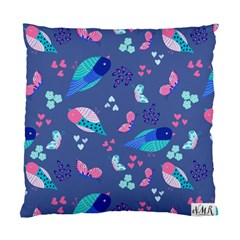 Birds And Butterflies Standard Cushion Case (one Side) by BangZart