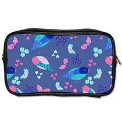 Birds And Butterflies Toiletries Bags