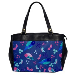 Birds And Butterflies Office Handbags
