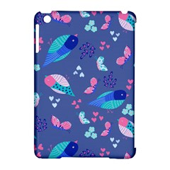 Birds And Butterflies Apple Ipad Mini Hardshell Case (compatible With Smart Cover) by BangZart