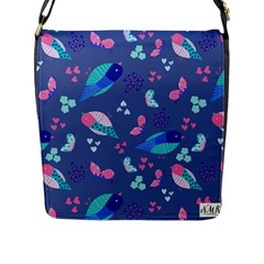 Birds And Butterflies Flap Messenger Bag (l)  by BangZart