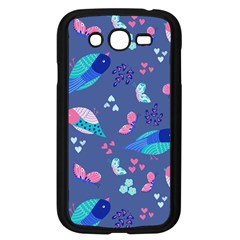 Birds And Butterflies Samsung Galaxy Grand Duos I9082 Case (black) by BangZart