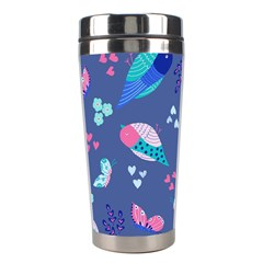 Birds And Butterflies Stainless Steel Travel Tumblers