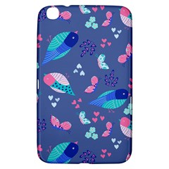 Birds And Butterflies Samsung Galaxy Tab 3 (8 ) T3100 Hardshell Case  by BangZart
