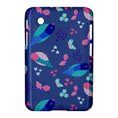 Birds And Butterflies Samsung Galaxy Tab 2 (7 ) P3100 Hardshell Case