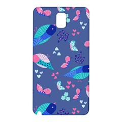 Birds And Butterflies Samsung Galaxy Note 3 N9005 Hardshell Back Case