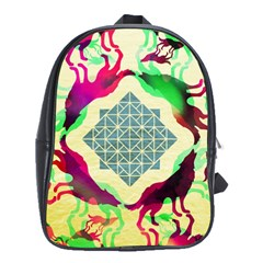 Several Wolves Album School Bags(large)  by BangZart