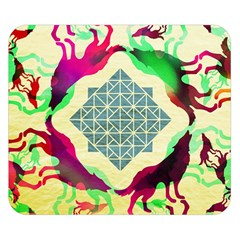 Several Wolves Album Double Sided Flano Blanket (small)  by BangZart