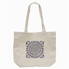 Illustration Binary Null One Figure Abstract Tote Bag (cream) by BangZart