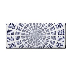 Illustration Binary Null One Figure Abstract Cosmetic Storage Cases